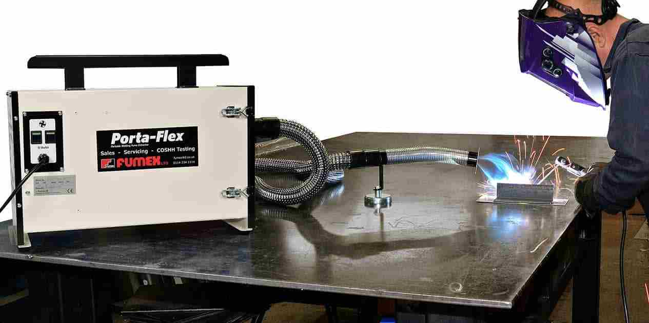 Mobile & Portable Weld Fume Extraction