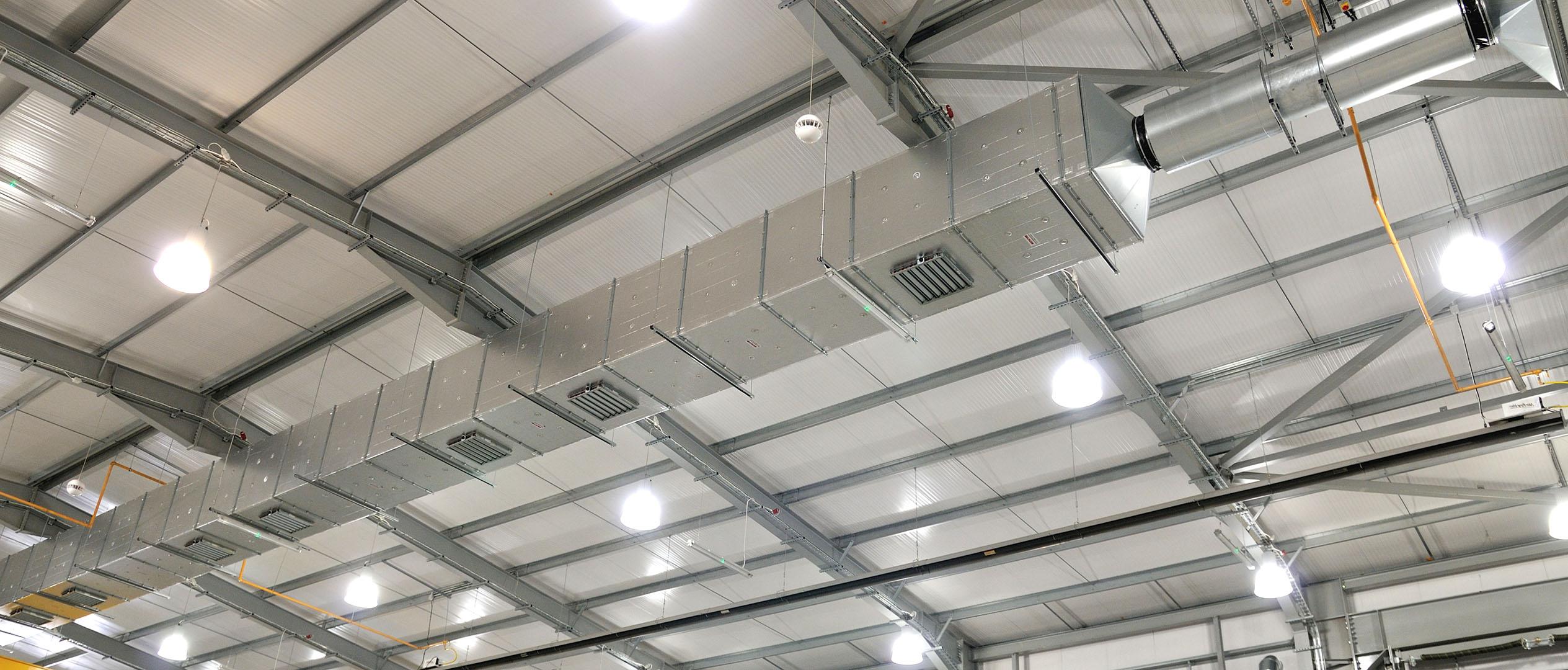 General (High level) Ventilation