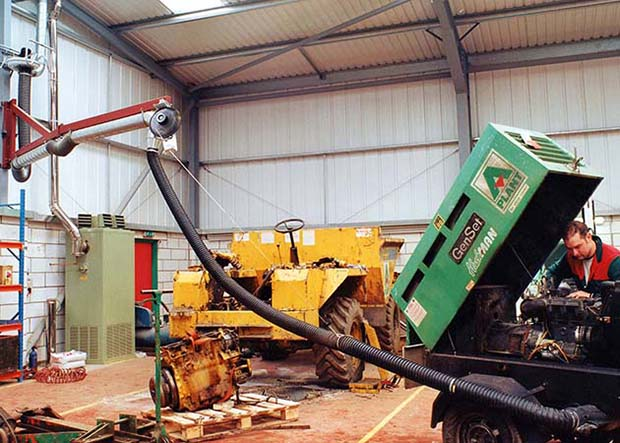 Exhaust Extraction Systems for Plant & Equipment