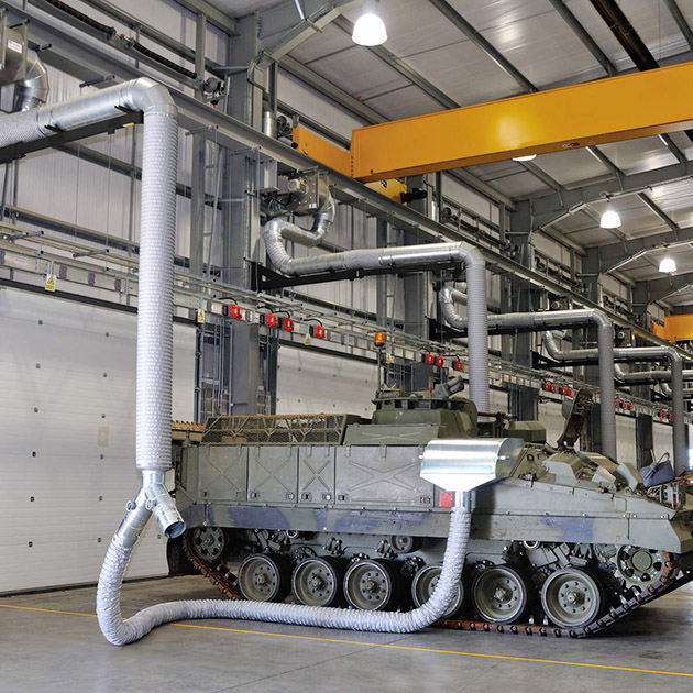 Military Exhaust Extraction