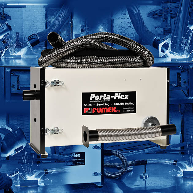 Portable Weld Fume Filtration Unit
