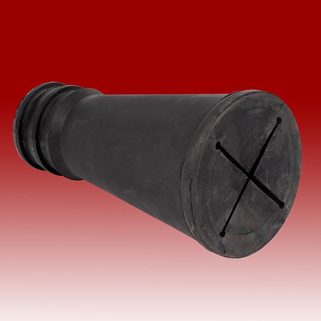 Self-Seal Rubber Nozzle