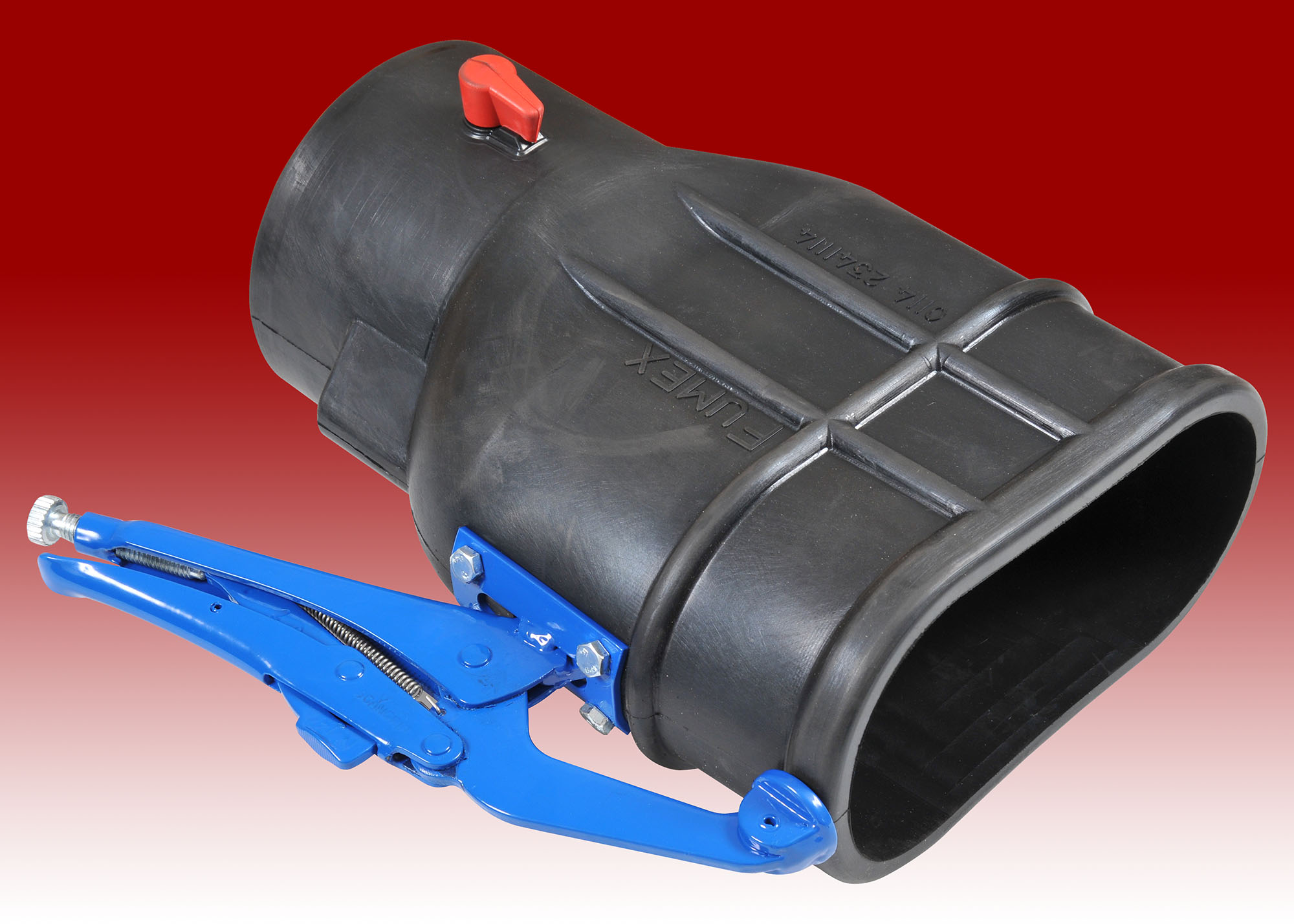 Rubber Oval Commercial Clamp