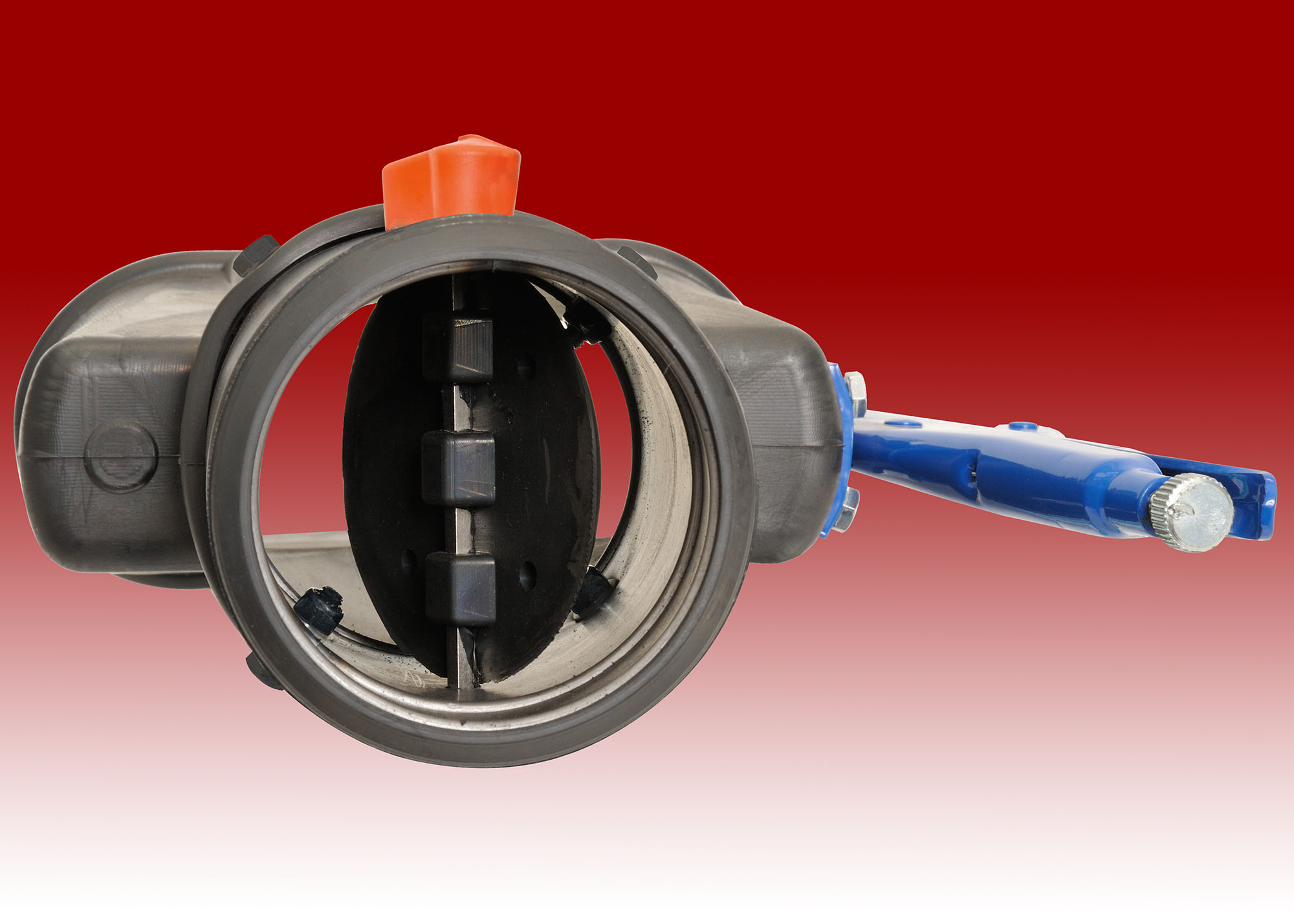 Rubber Oval Clamp Nozzle with Damper