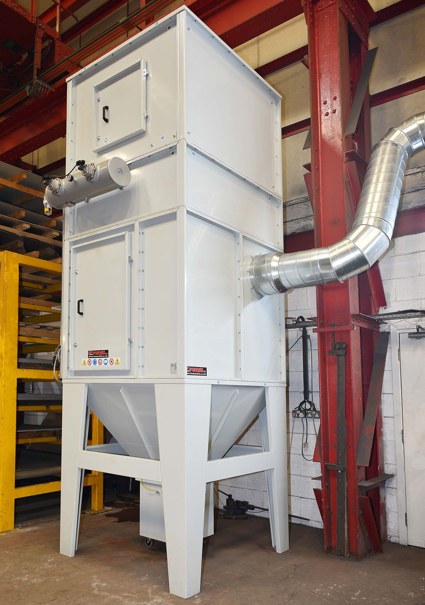 Centralised Weld Fume Extraction Systems