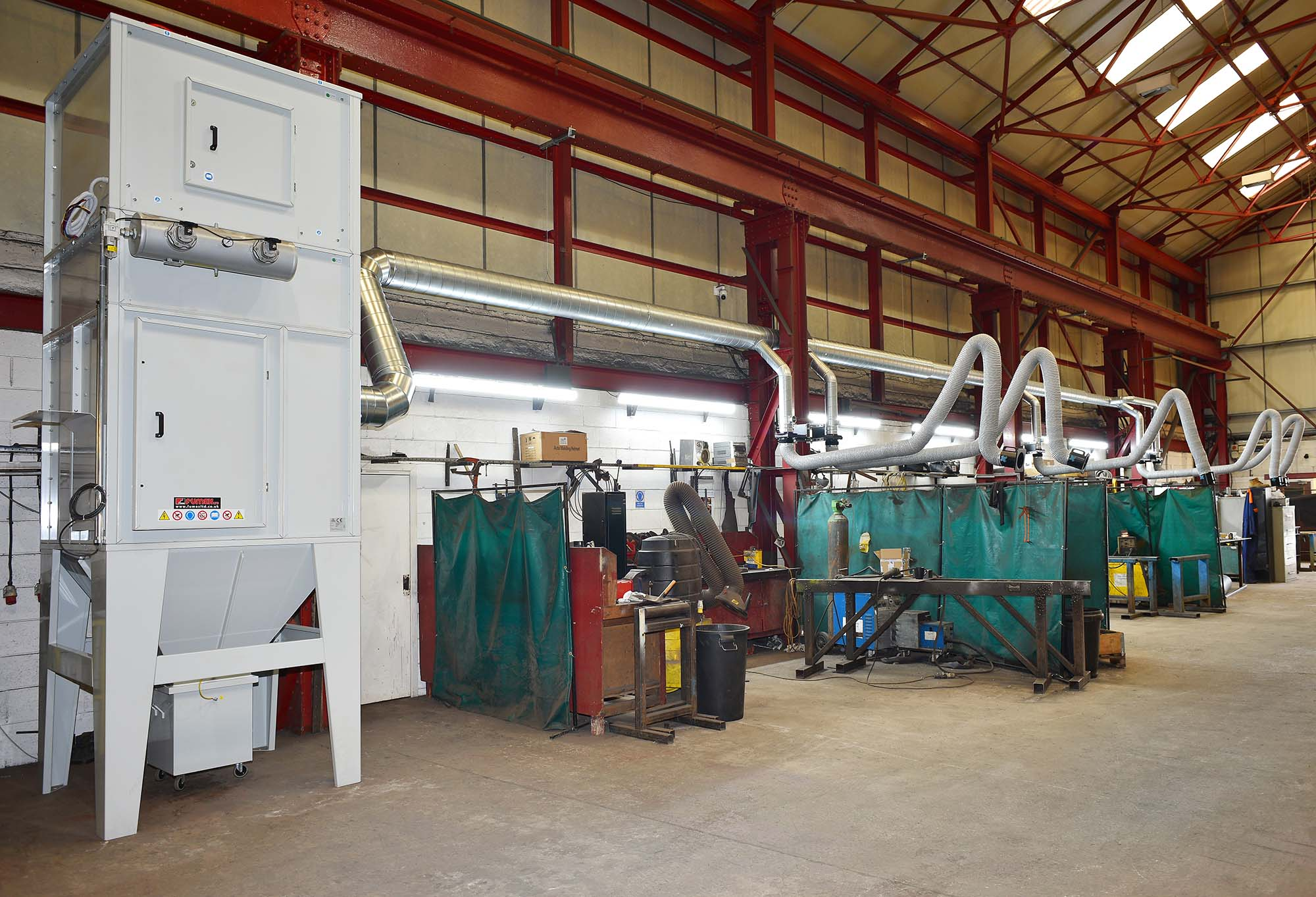Fixed Point Weld Fume Extraction System