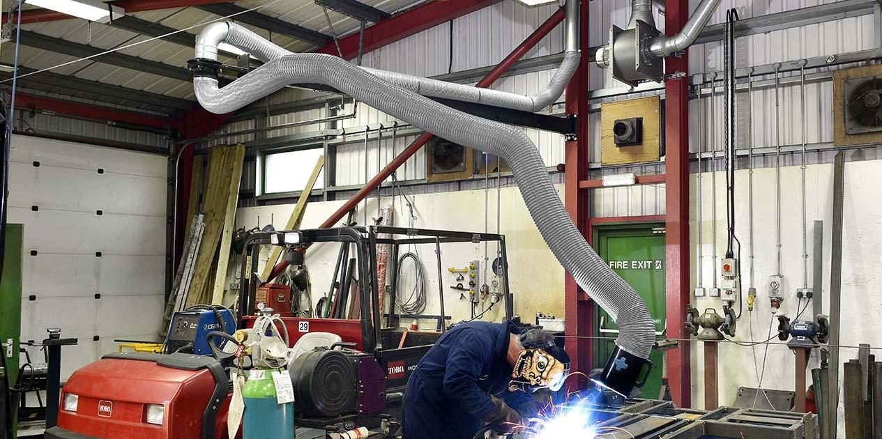 Flexible Crane Arms