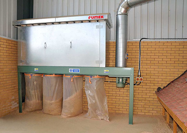 Agricultural Exhaust Extraction